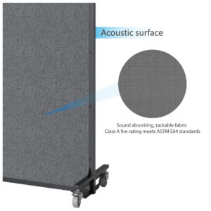 soundabsorbing movable partition glassenergy